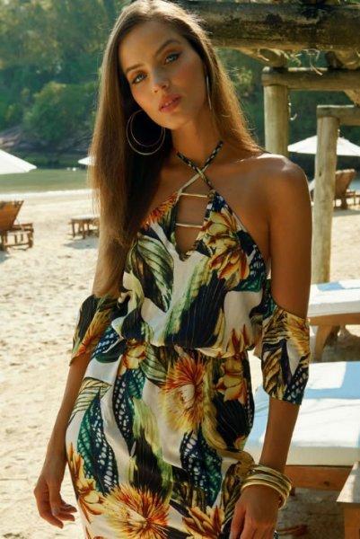Vestido Curto Estampado Colcci - Look do dia - lookdodia.com