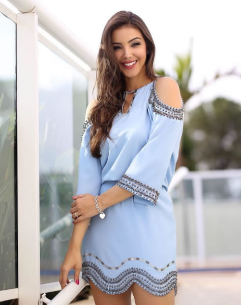 Vestido Bordados Raiza Marinari - Ton Âge - Look do dia - lookdodia.com