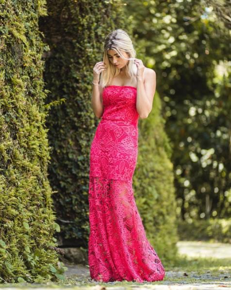 Vestido Guipire Pink - Clara Rosas Atelier - Look do dia - lookdodia.com