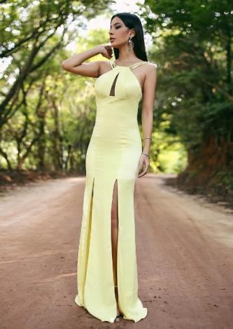 Vestido Minimalista Ortiz Dopls - Look do dia - lookdodia.com