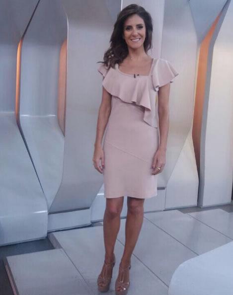 Monalisa Perrone veste Iodice Vestido Nataly Ma - Look do dia - lookdodia.com