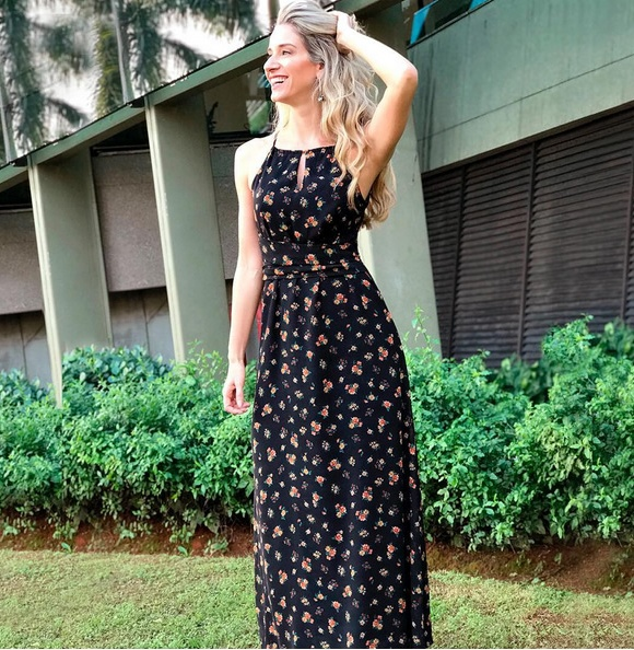 31-Vestido Longo Oscar Cava Americana Mini Liberty Zinzane - Look do dia