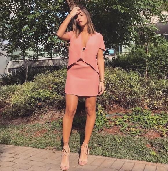 35-Vestido Suki Rosê Tjurs - Look do dia