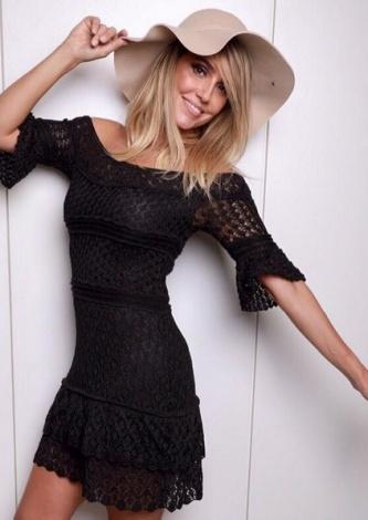 Vestido Tricot Nina Preto Galeria Tricot - Look do dia