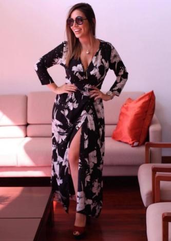 Vestido Floral Brusque Zinzane - Look do dia - lookdodia.com
