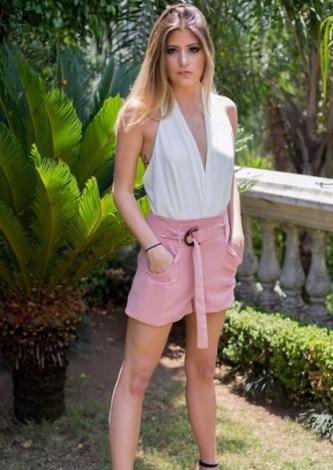 camigou veste Iodice Shorts IO Alicia Rosa - Look do dia - lookdodia.com