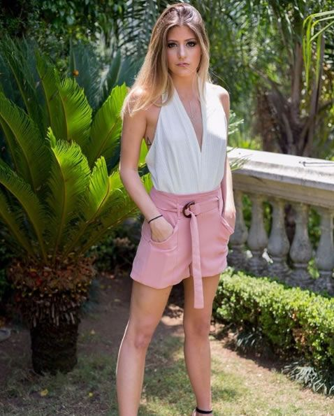 camigou veste Iodice Shorts IO Alicia Rosa - Look do dia - lookdodia.com