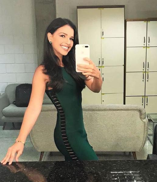 Mariana Rios veste Tigstore Vestido Ana Verde - Look do dia - lookdodia.com