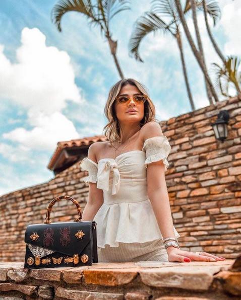 Thassia Naves veste ByNV Blusa Milena - Look do dia - lookdodia.com