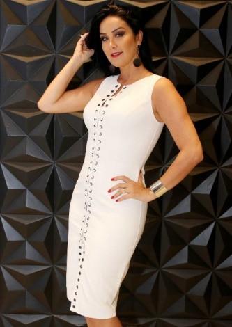 Helen Ganzaroli veste Dress&Co Vestido de Couro Laura - Look do dia - lookdodia.com