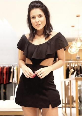 mcquimaraes veste Agatha Macaquinho Recorte Lateral - Look do dia - lookdodia.com