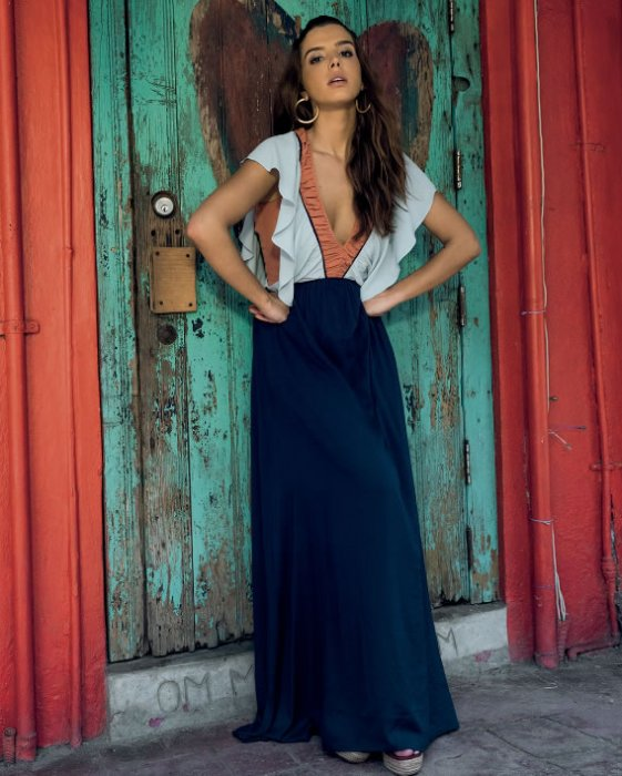 Vestido Bali Com Recortes Colors - Look do dia: Giovanna Lancellotti