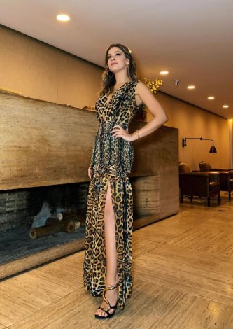 Vestido Savage TIG - Look do dia: Marcella Tranchesi